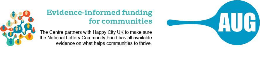 August - evidence-informed funding for communities