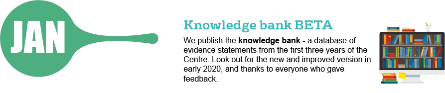 Jan- Knowledge bank BETA