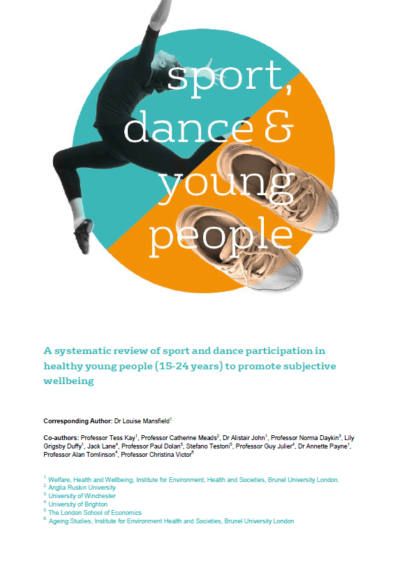 Sport, dance and young people