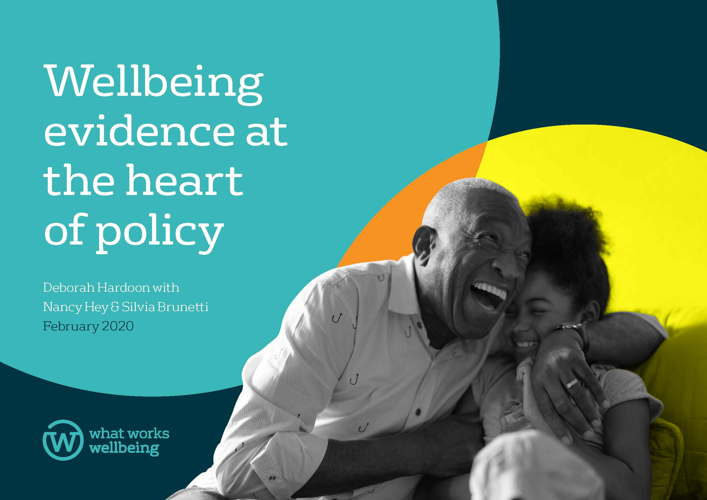 Wellbeing evidence at the heart of policy