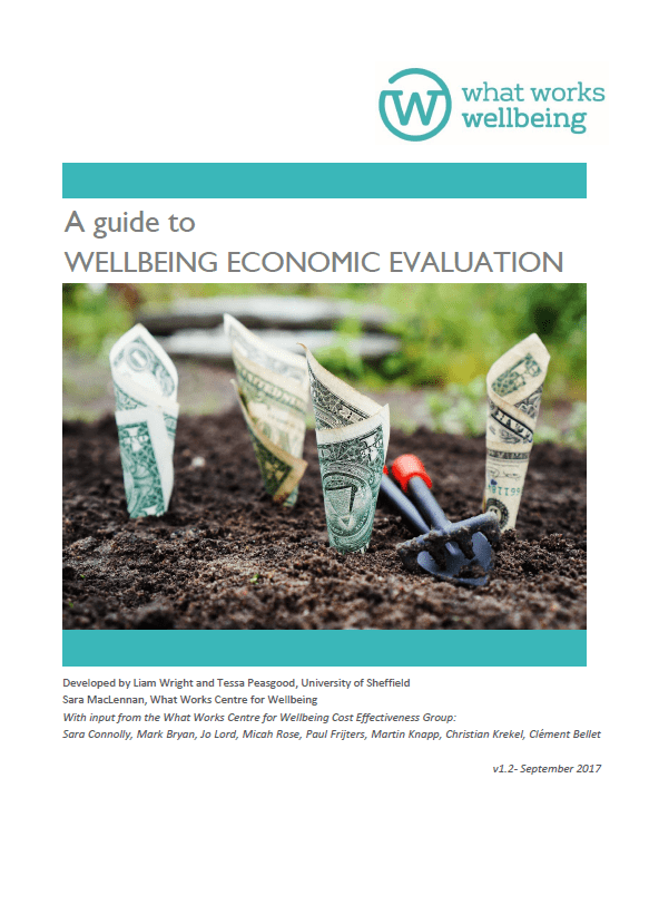 A Guide to Wellbeing Economic Evaluation