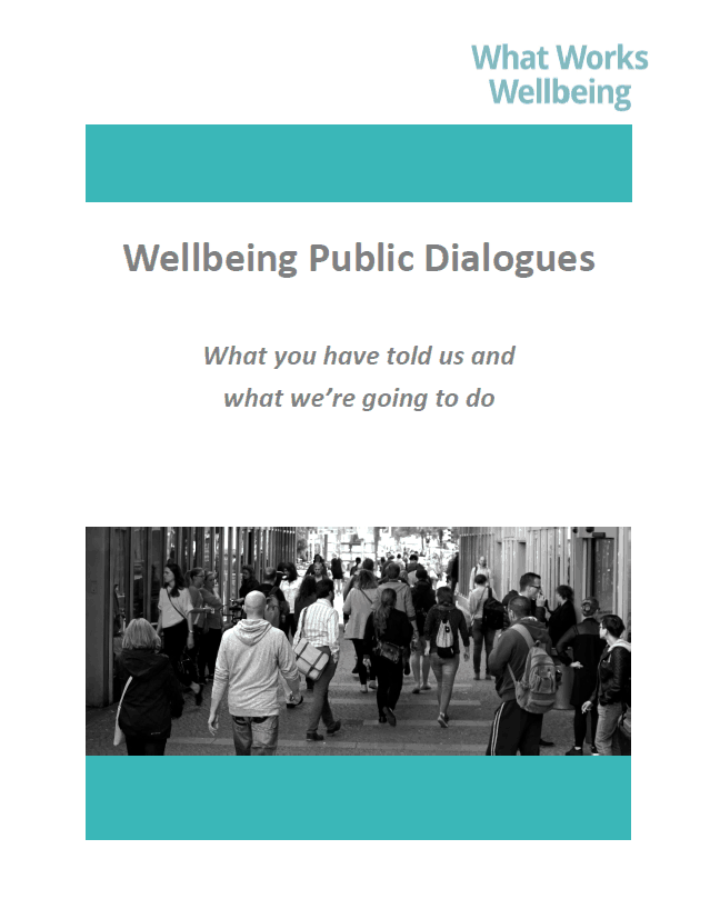 Wellbeing Public Dialogues