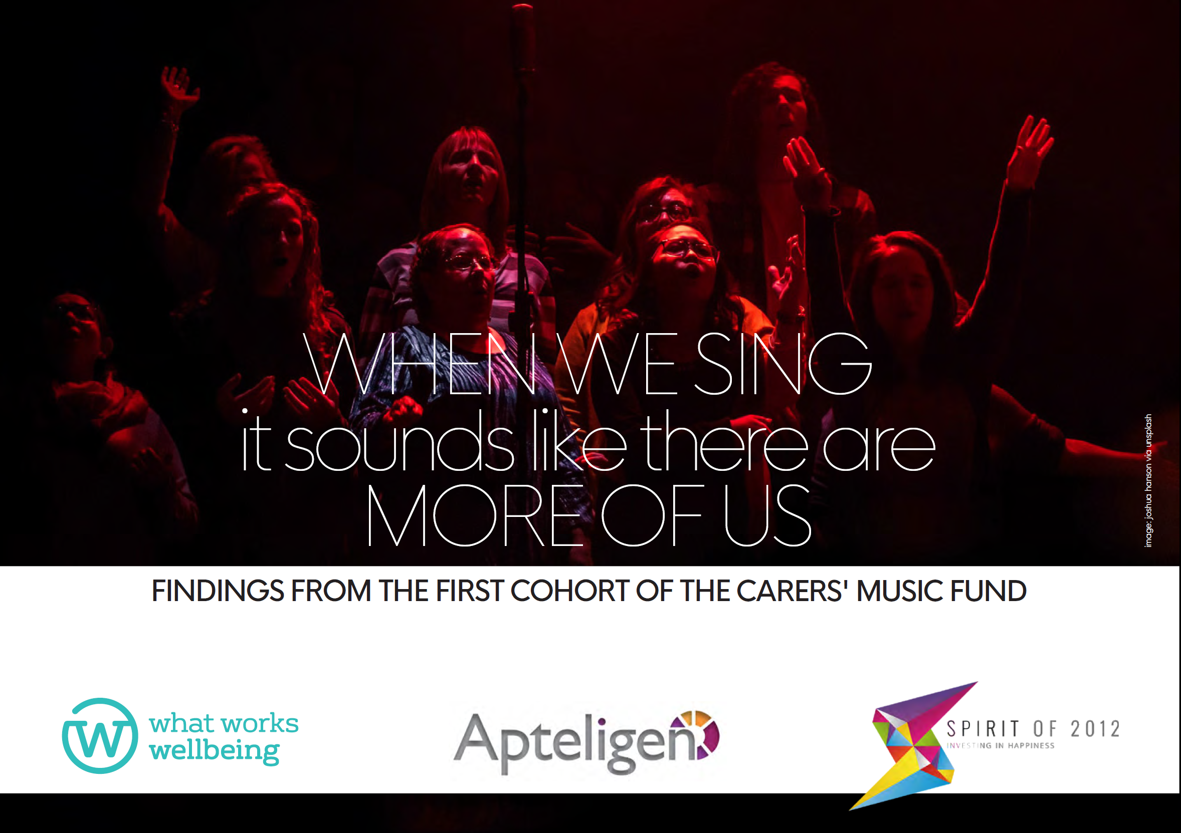 When we sing it sounds like there are more of us: Findings from the first cohort of the Carer's Music Fund