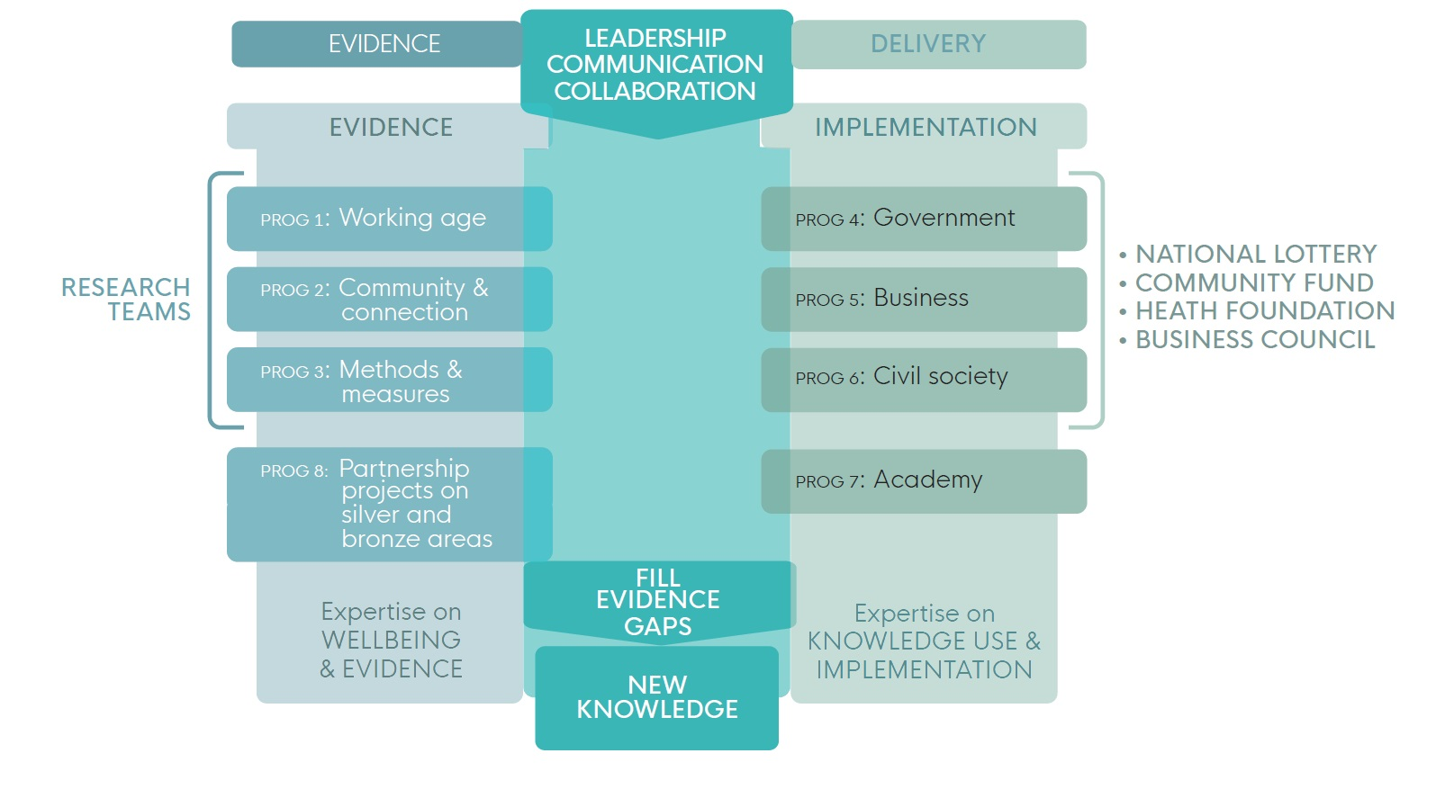 our team and structure diagram